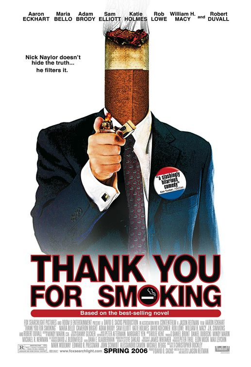 Thank You for Smoking Poster
