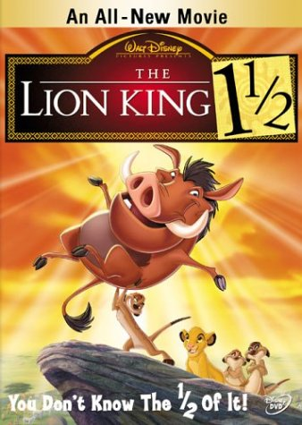 The Lion King 1.5 Poster