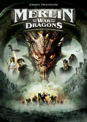 Merlin and the War of the Dragons Poster