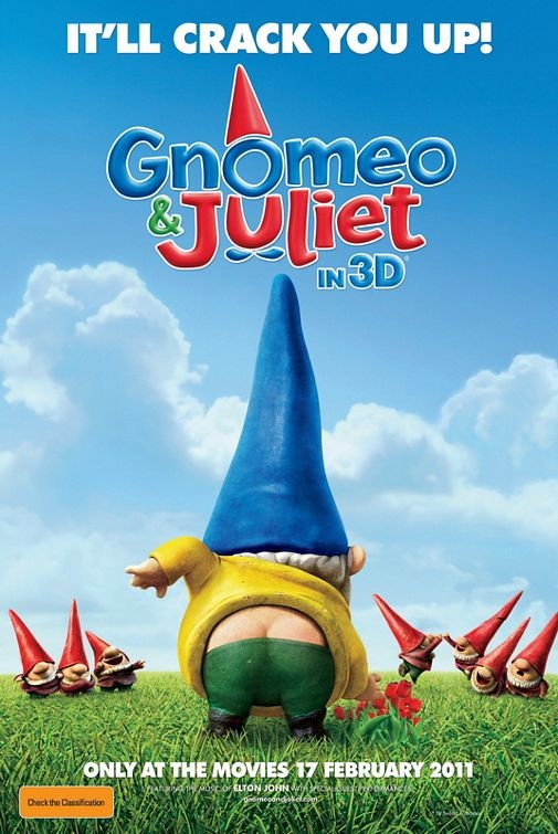 Gnomeo & Juliet Poster