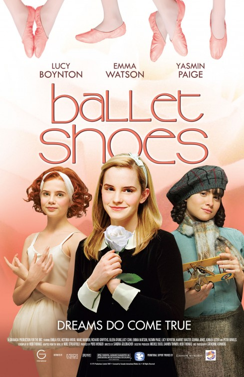 Ballet Shoes Poster