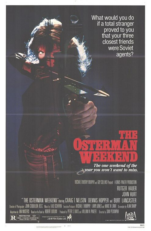 The Osterman Weekend Poster